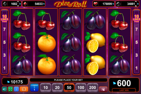 dice and roll egt tragamonedas gratis
