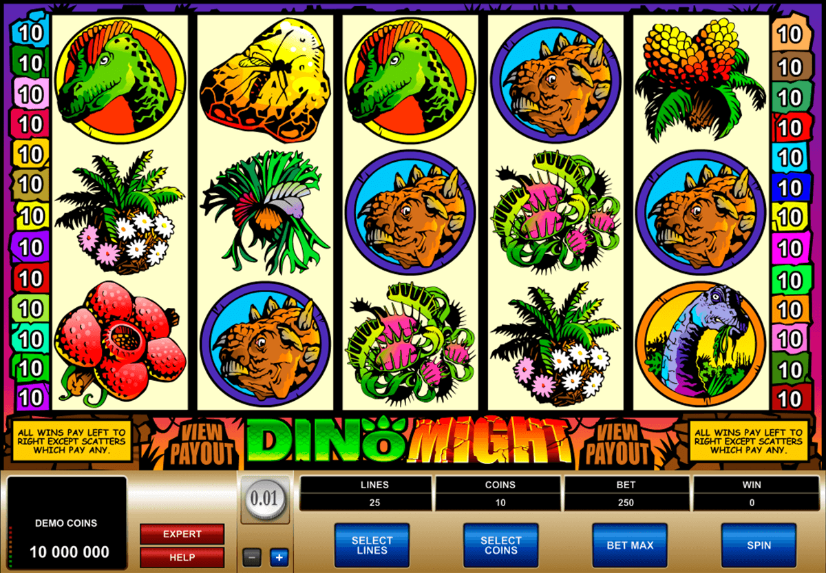 dino might microgaming tragamonedas gratis