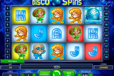 disco spins netent tragamonedas gratis
