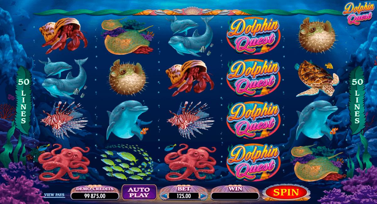 dolphin quest microgaming tragamonedas gratis