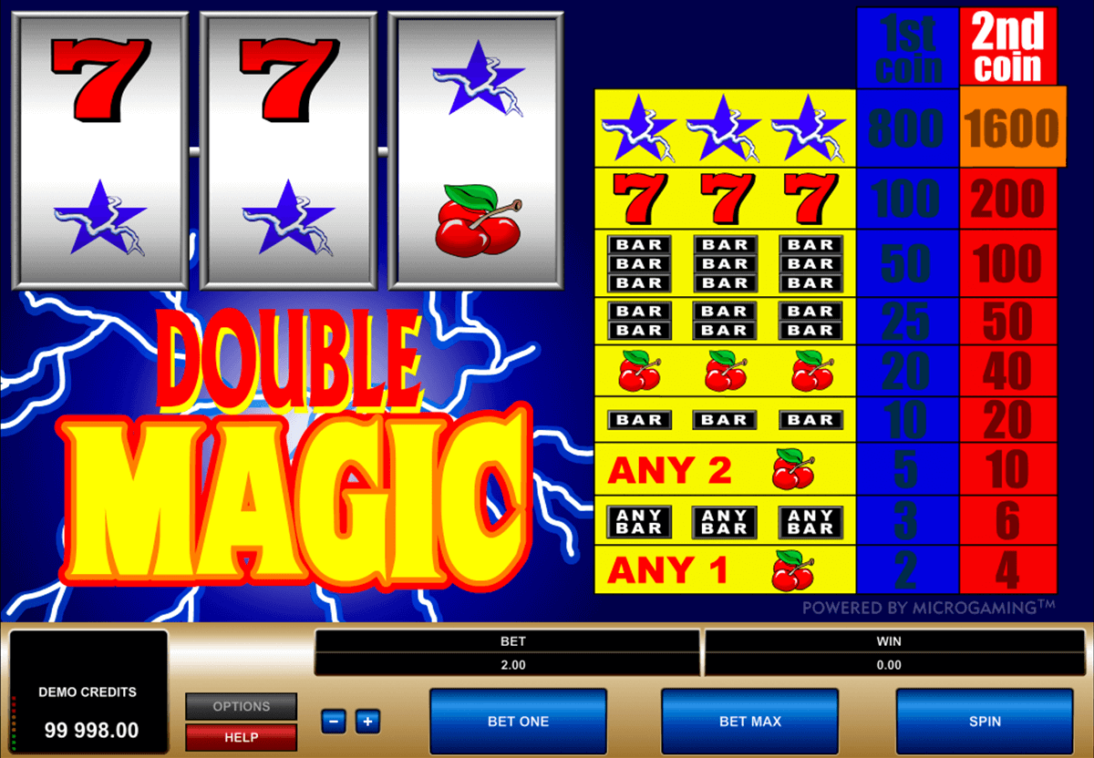 double magic microgaming tragamonedas gratis