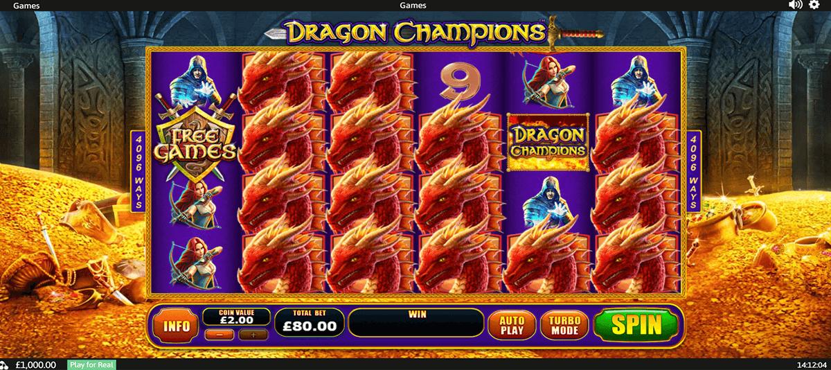 dragon champions playtech tragamonedas gratis