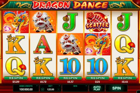dragon dance microgaming tragamonedas gratis