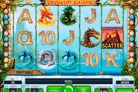 dragon island netent tragamonedas gratis