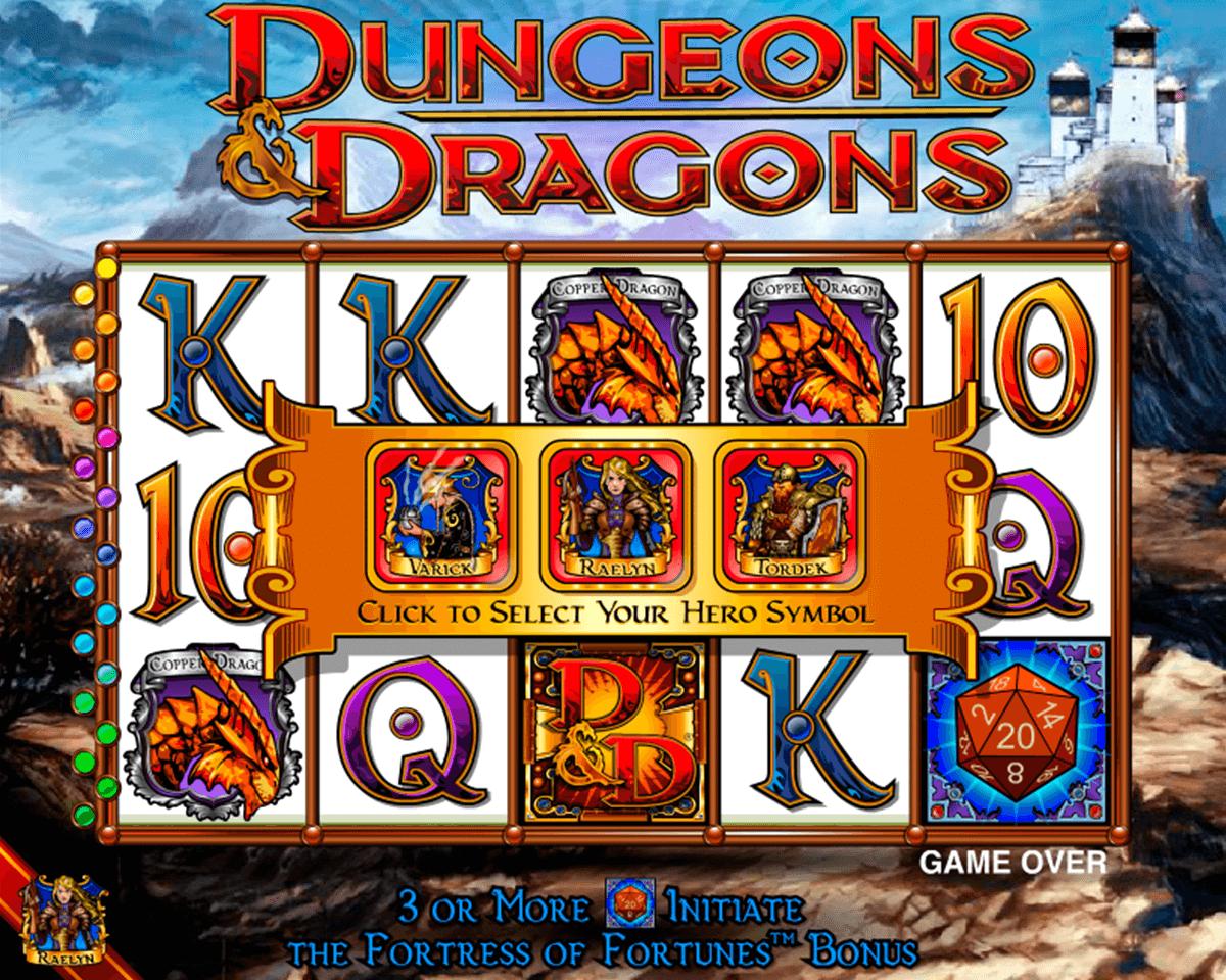 dungeons and dragons igt tragamonedas gratis