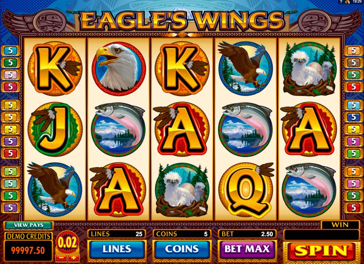 eagles wings microgaming tragamonedas gratis