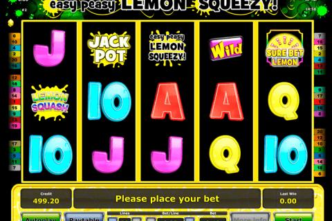easy peasy lemon squeezy novomatic tragamonedas gratis
