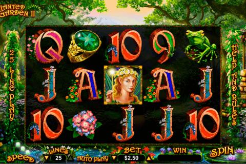 enchanted garden ii rtg tragamonedas gratis