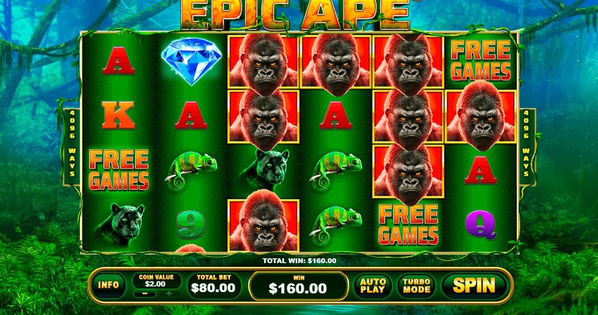 epic ape playtech tragamonedas gratis