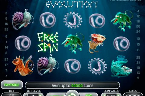 evolution netent tragamonedas gratis
