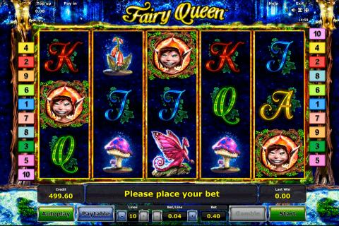 fairy queen novomatic tragamonedas gratis