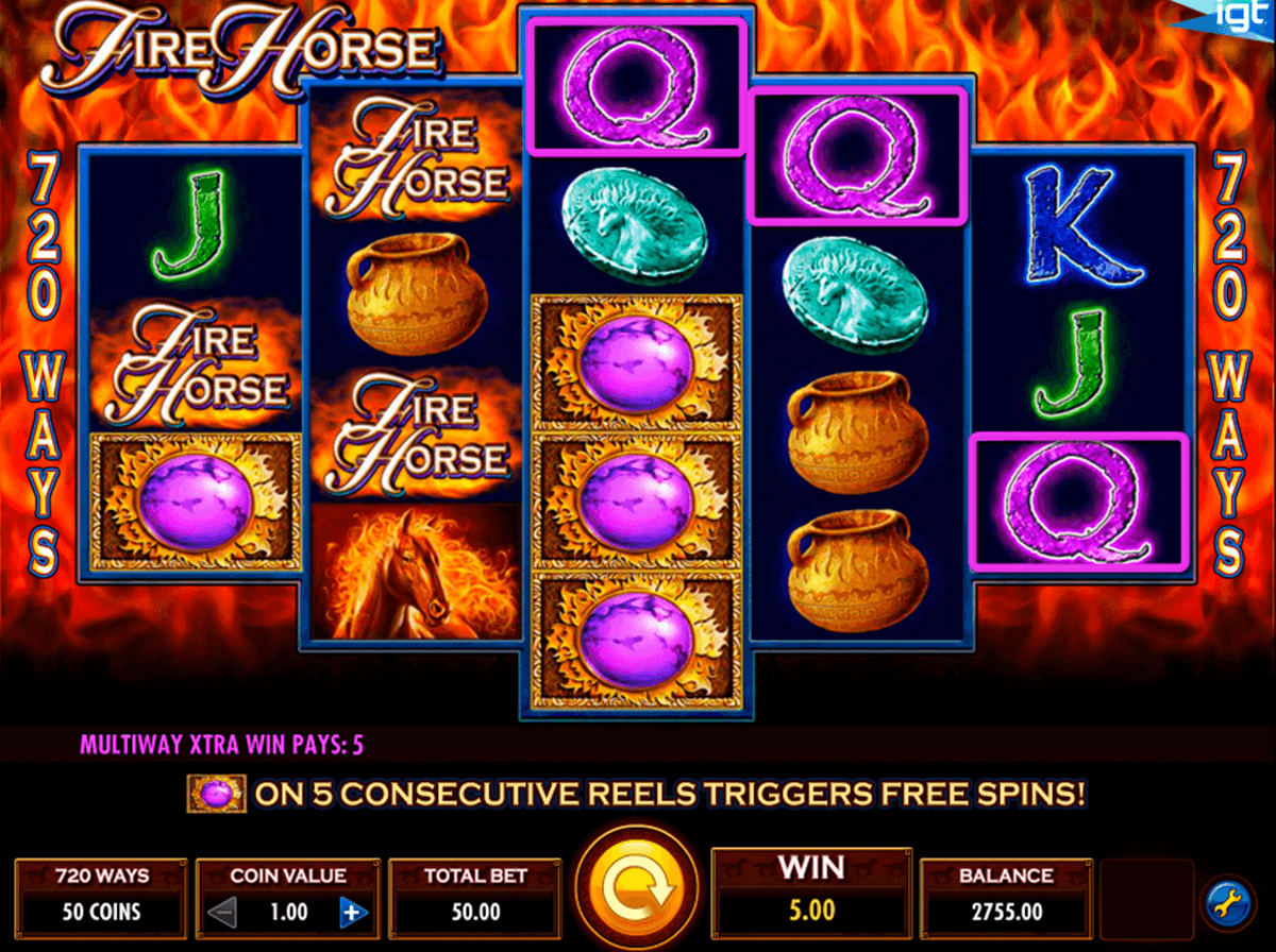 fire horse igt tragamonedas gratis