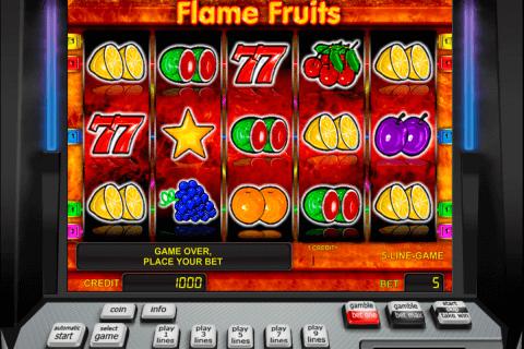flame fruits novomatic tragamonedas gratis