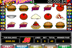food fight rtg tragamonedas gratis