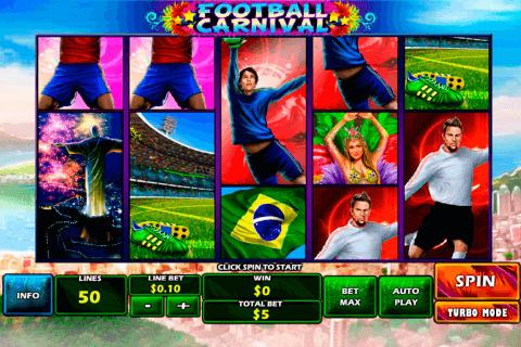 football carnival playtech tragamonedas gratis