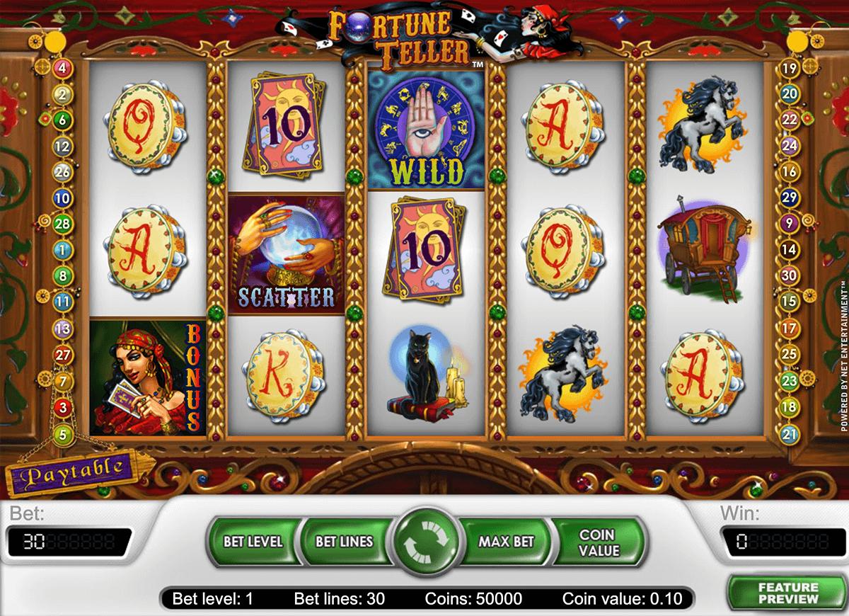 fortune teller netent tragamonedas gratis