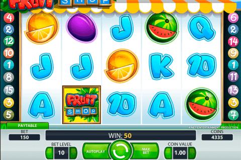 fruit shop netent tragamonedas gratis