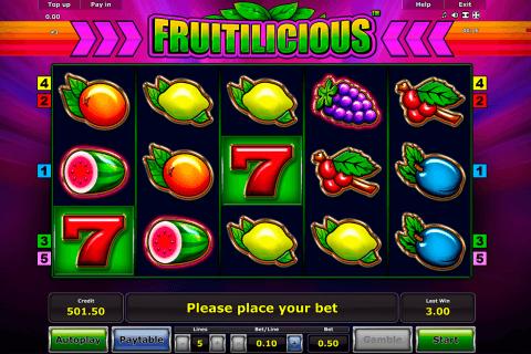 fruitilicious novomatic tragamonedas gratis