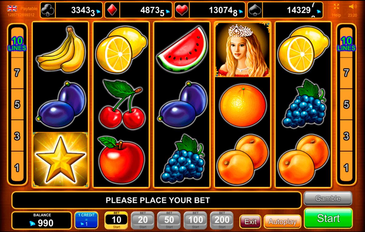 fruits kingdom egt tragamonedas gratis