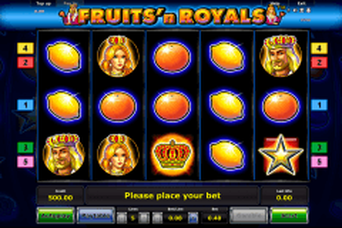 fruitsn royals novomatic tragamonedas gratis