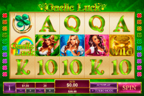 gaelic luck playtech tragamonedas gratis