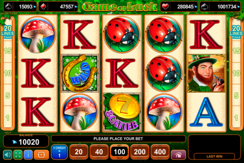 game of luck egt tragamonedas gratis