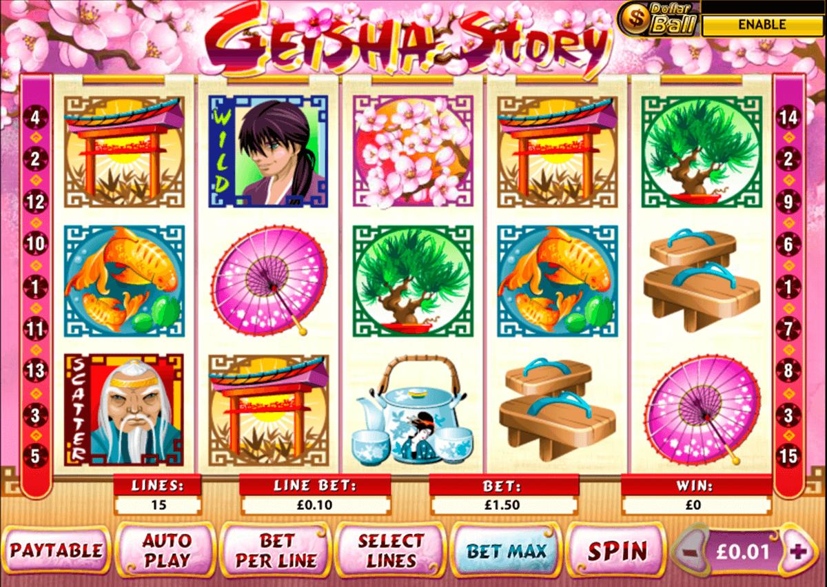 geisha story playtech tragamonedas gratis