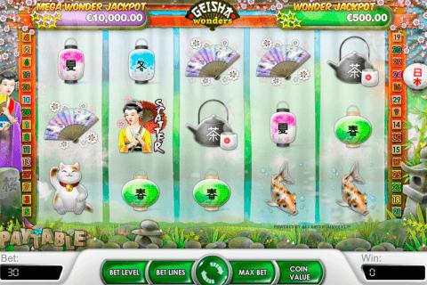 geisha wonders netent tragamonedas gratis