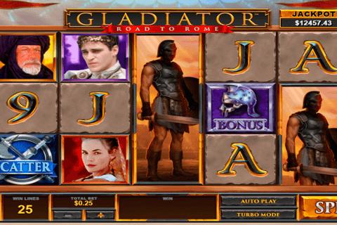gladiator road to rome playtech tragamonedas gratis