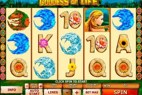 goddess of life playtech tragamonedas gratis