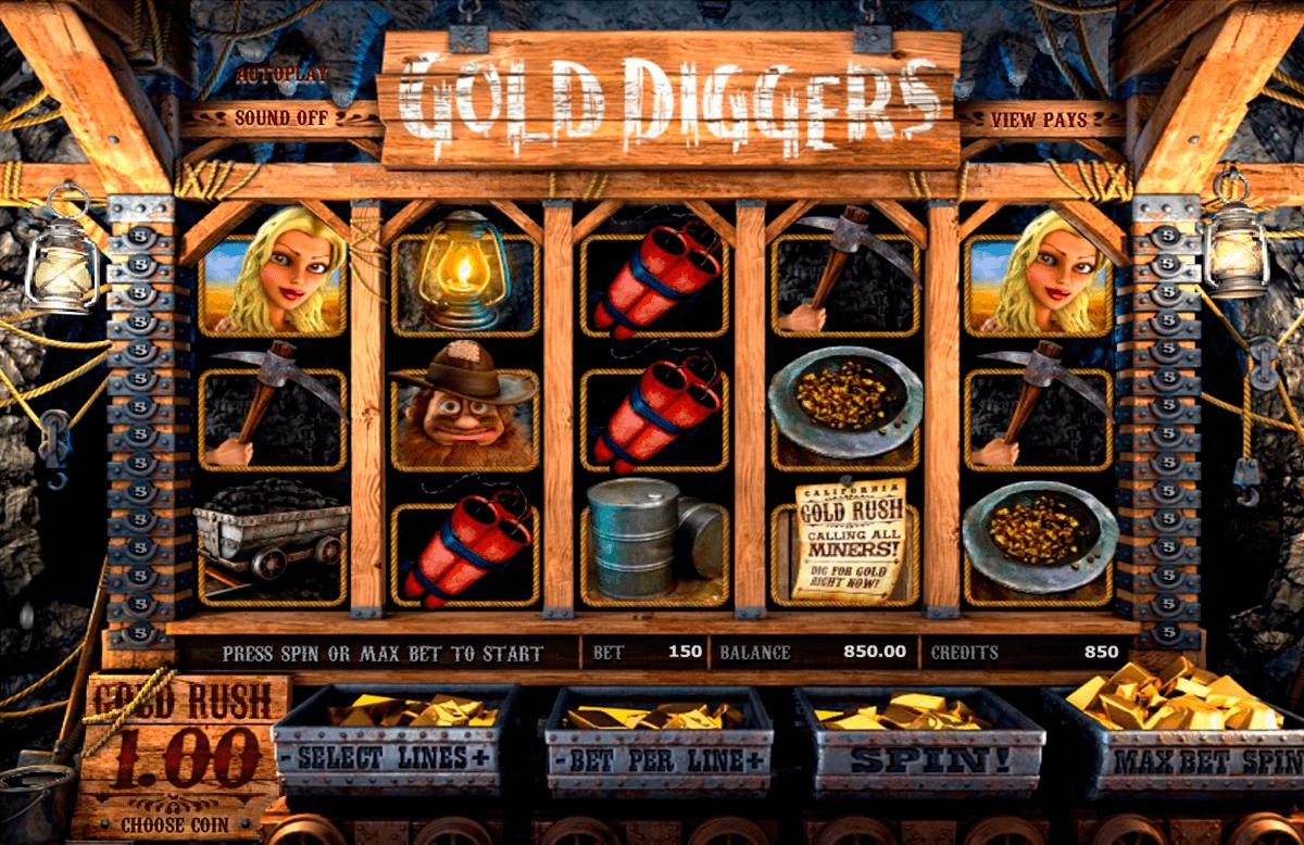 gold diggers betsoft tragamonedas gratis