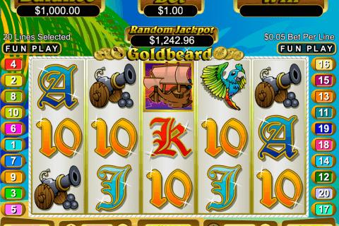 goldbeard rtg tragamonedas gratis