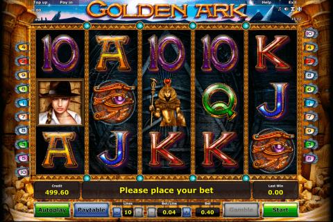 golden ark novomatic tragamonedas gratis