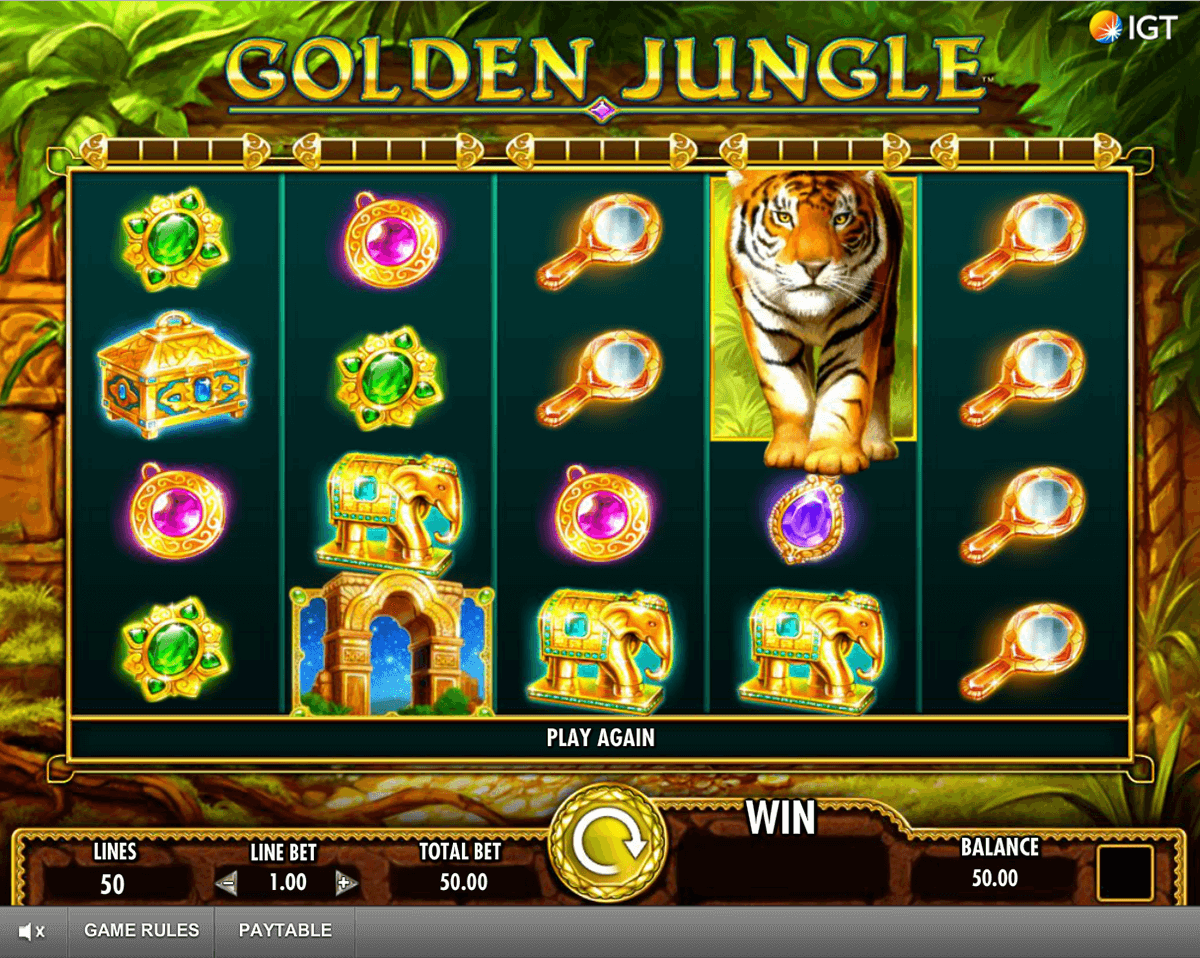 golden jungle igt tragamonedas gratis