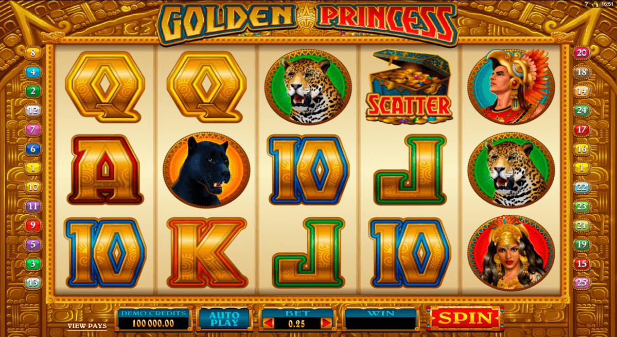 golden princess microgaming tragamonedas gratis