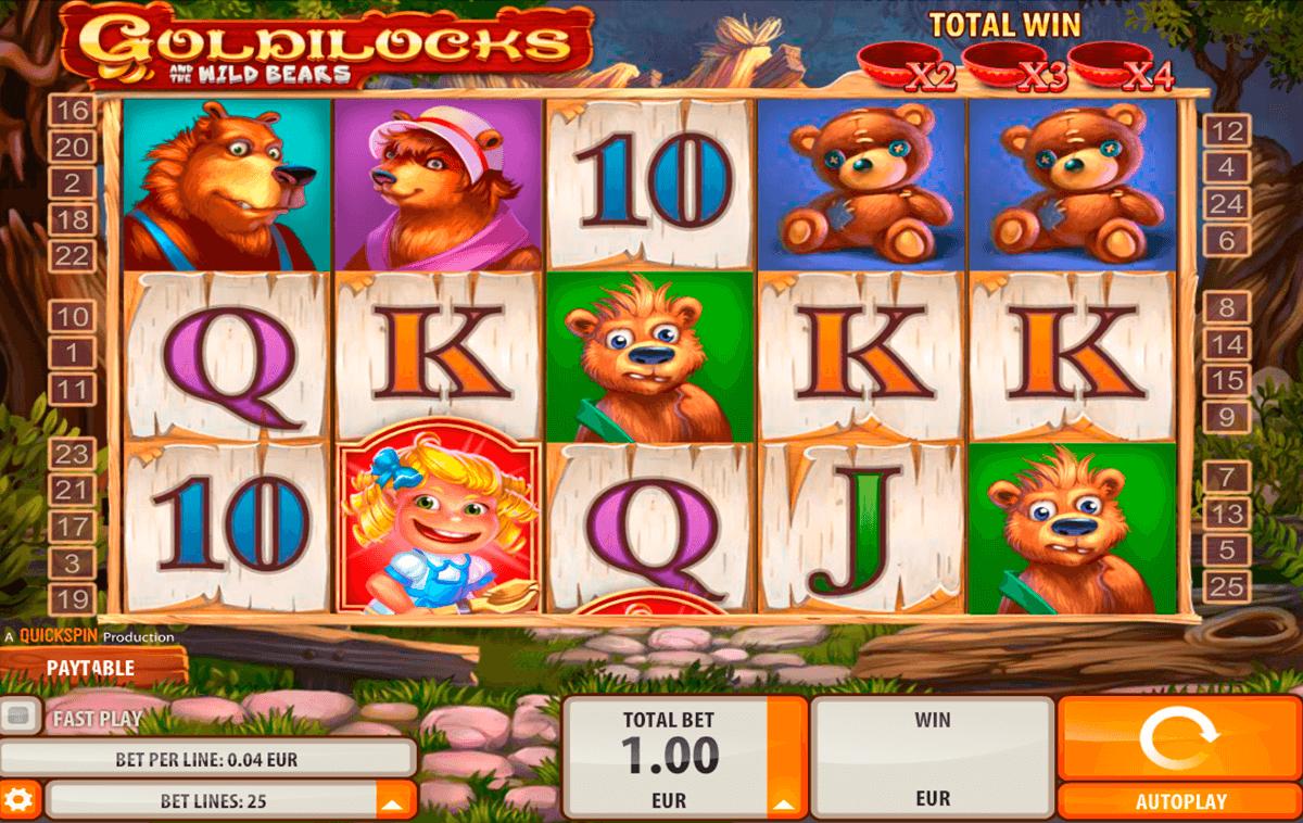 goldilocks quickspin tragamonedas gratis