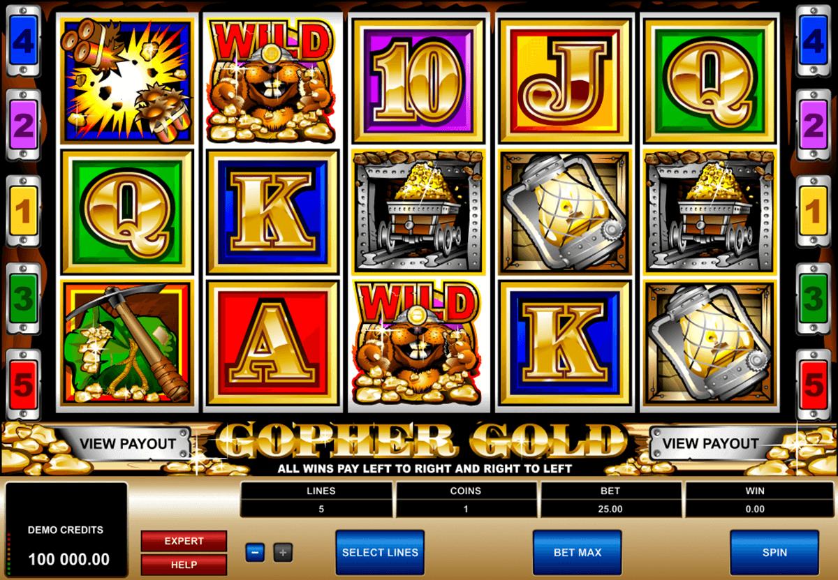 gopher gold microgaming tragamonedas gratis