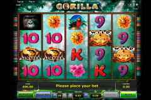 gorilla novomatic tragamonedas gratis