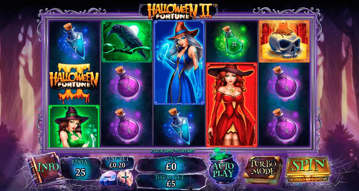 halloween fortune ii playtech tragamonedas gratis