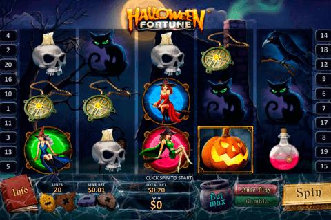 halloween fortune playtech tragamonedas gratis