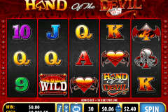 hand of the devil bally tragamonedas gratis