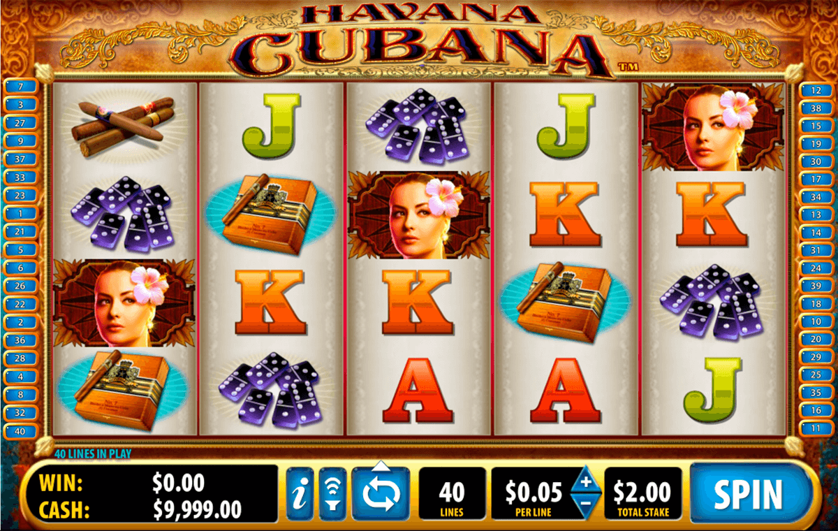 havana cubana bally tragamonedas gratis