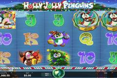 holly jolly penguins microgaming tragamonedas gratis