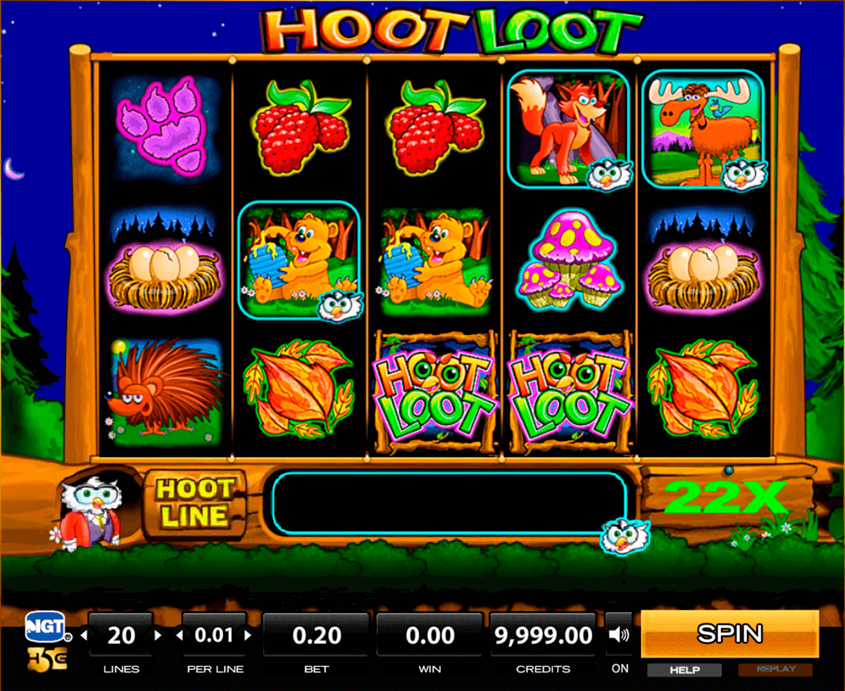 hoot loot high5 tragamonedas gratis