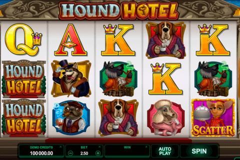 hound hotel microgaming tragamonedas gratis