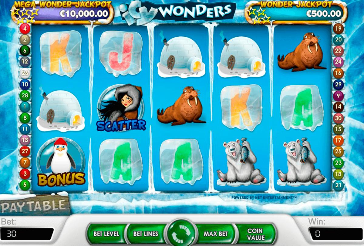 icy wonders netent tragamonedas gratis