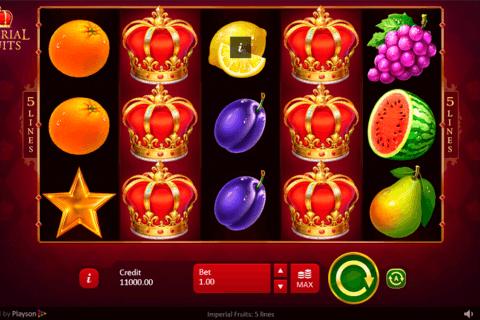 imperial fruits  lines playson tragamonedas gratis