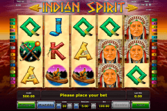 indian spirit novomatic tragamonedas gratis
