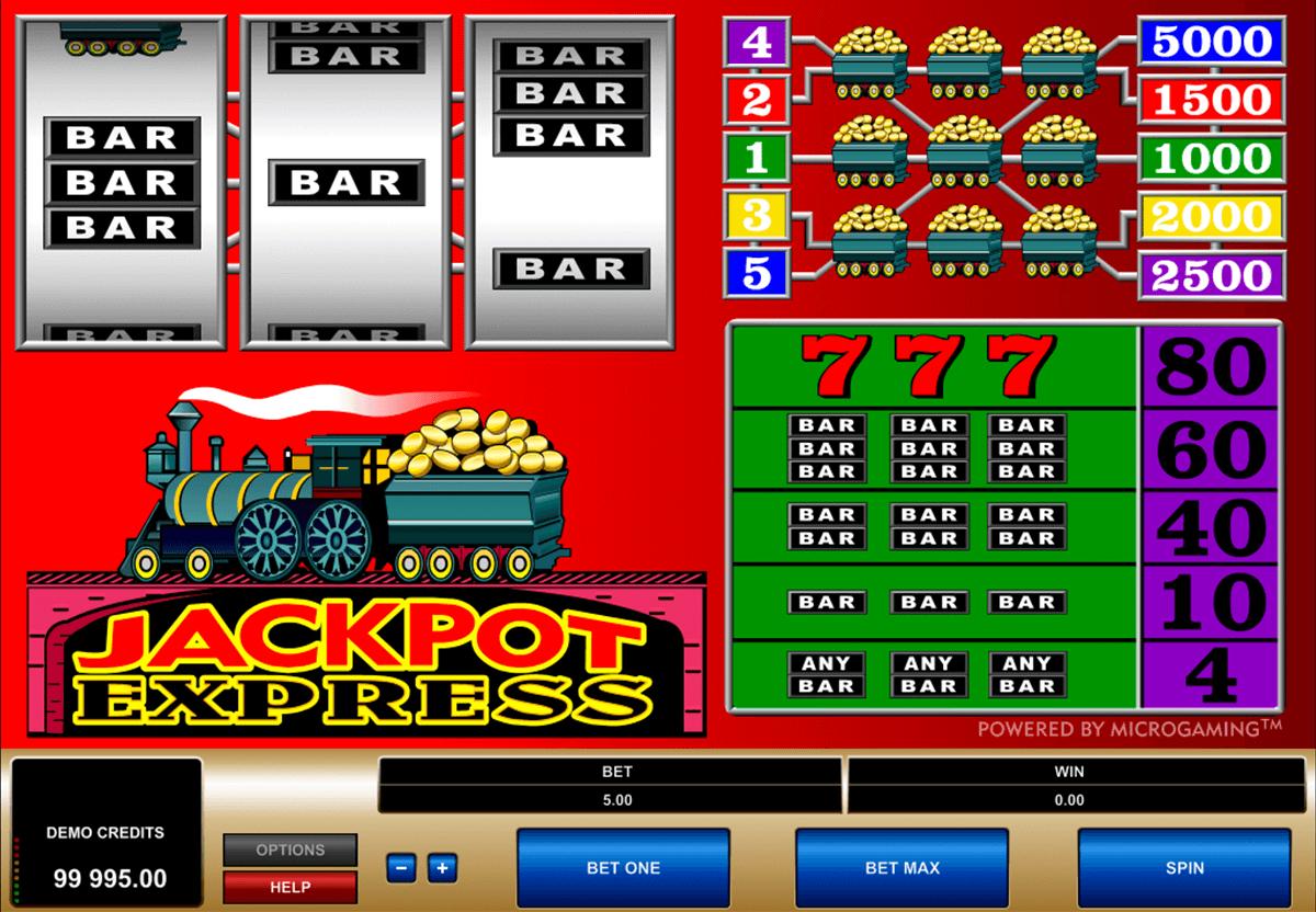 jackpot express microgaming tragamonedas gratis