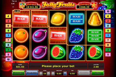 jolly fruits novomatic tragamonedas gratis